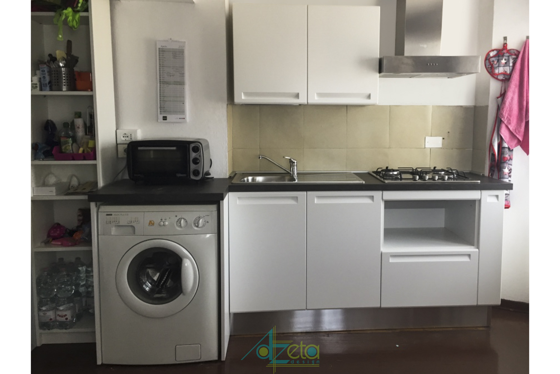 Cucina per monolocale - AzetaDesign