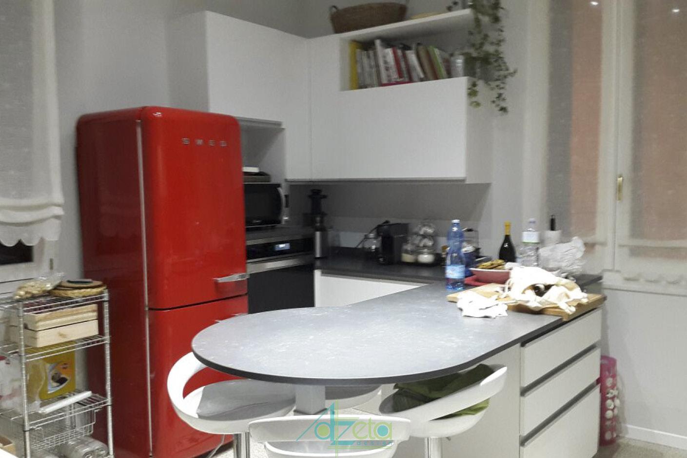 Cucina con penisola azetadesign - Cucina rustica con penisola ...