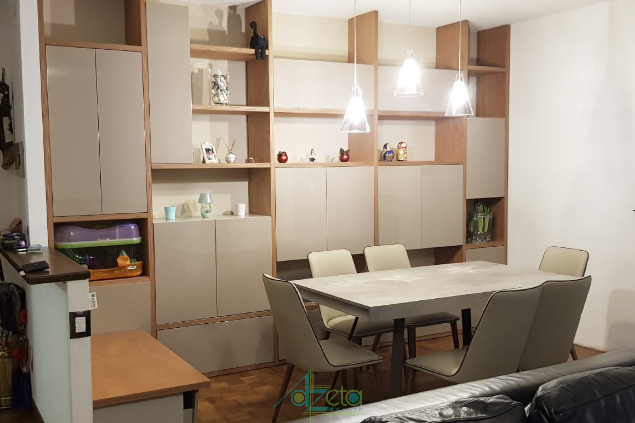 Arredo e mobile soggiorno su misura - Parma - AzetaDesign
